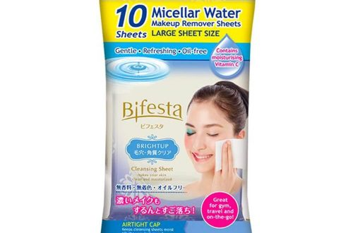 Bifesta Cleansing Sheet Brightup