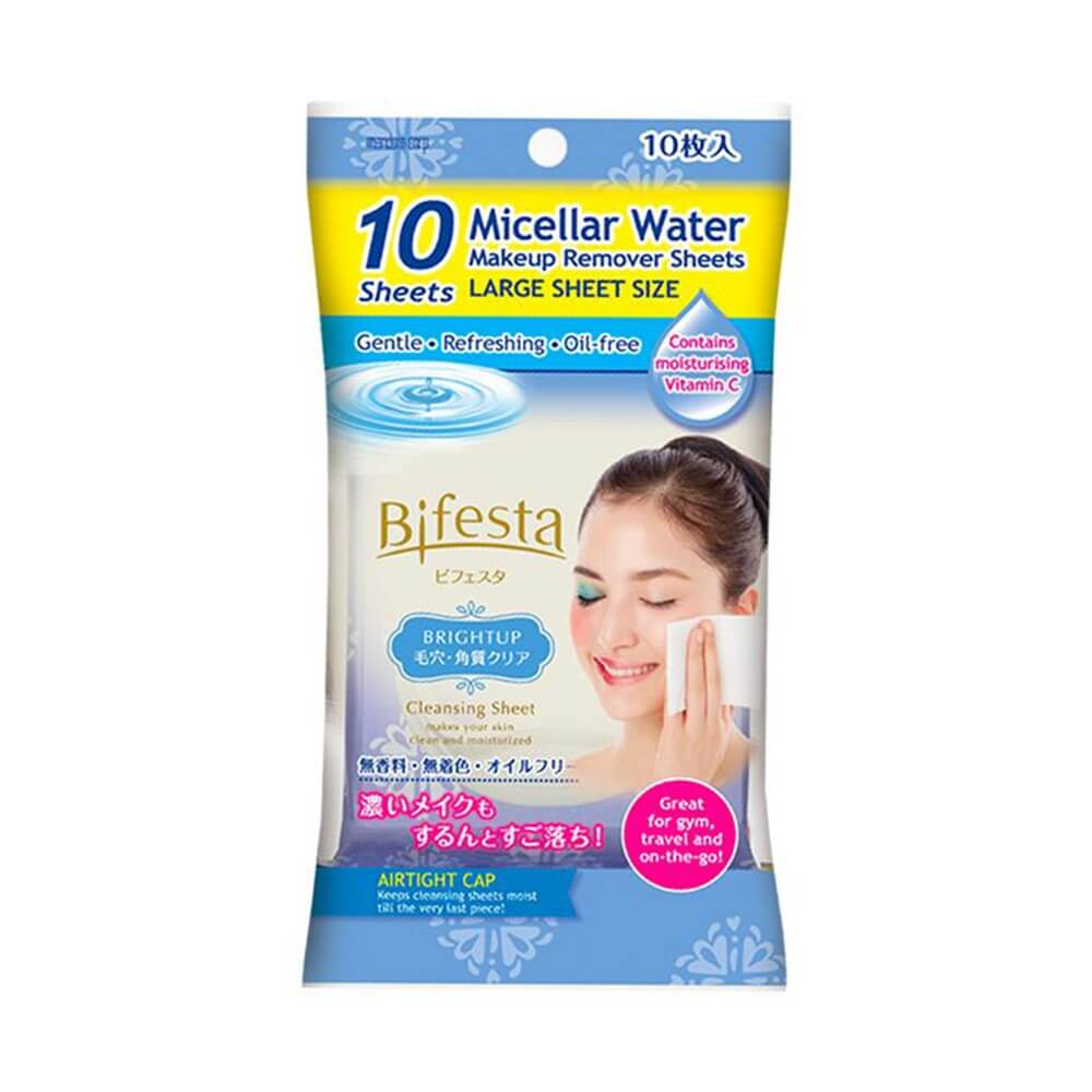 Bifesta Cleansing Sheet Brightup