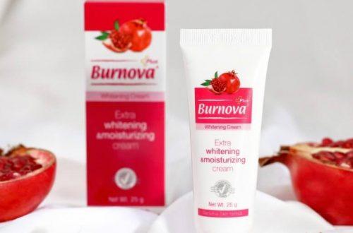 Burnova Plus Whitening Cream
